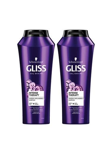 Gliss Intense Therapy Yeniden Yapılandırıcı Şampuan 500 Ml 2'Li Renksiz